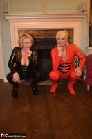 Phillipas Ladies. Dimonty & Camilla In Their PVC Catsuits Free Pic 7