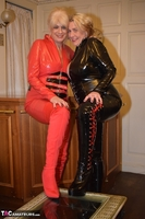 Phillipas Ladies. Dimonty & Camilla In Their PVC Catsuits Free Pic 8