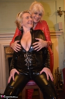 Phillipas Ladies. Dimonty & Camilla In Their PVC Catsuits Free Pic 12