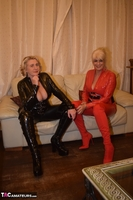Phillipas Ladies. Dimonty & Camilla In Their PVC Catsuits Free Pic 15