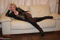 Phillipas Ladies. Dimonty & Camilla In Their PVC Catsuits Free Pic 20