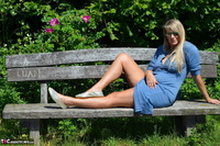 Sweet Susi. Naked On The Bench Free Pic 4