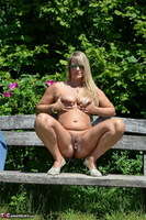 Sweet Susi. Naked On The Bench Free Pic 17
