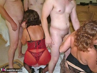 Curvy Claire. Claire & Marie's Gangbang Fun Pt2 Free Pic 1