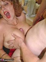 Curvy Claire. Claire & Marie's Gangbang Fun Pt2 Free Pic 5