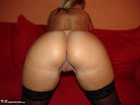 Sweet Susi. Nylon Skirt & Holdups Free Pic 12