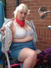 Boobs  n  tassels Just polished my Kwaka Chop and wanted to do some naughty pics for my biker friends and as usual I got quite turned on a. Milf, cougar, bbw/curvy, big tits, united kingdom, flashing, exhibitionist