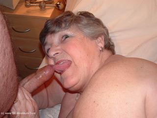 Grandma Libby - Silver Satin Pt2 Picture Gallery