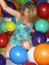 Devlynn s balloon room It is rather tough keeping a lady like appearance rolling around in a room full of balloons. Kisses, Devlynn. Mature, milf, united states, cougar