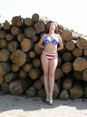 Sunny outdoor day Ejaculate outdoor with me and see me stripping. It was a really appealing location to do this see my whole naked anatomy my breasts and w. Milf, big tits, european, cougar