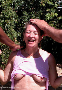 devlynn - Devlynn gets an Outdoor Shampoo by Two Free Pic 4