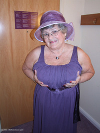 grandmalibby - Purple Dress Free Pic 2