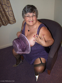 grandmalibby - Purple Dress Free Pic 3