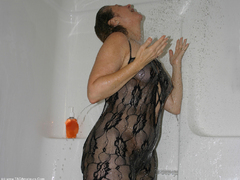 Devlynn - Devlynns Catsuit Shower Photo Album