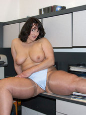 Bored at work This is what happens when you get bored and have nothin to do. The camera was at the office and I was itching to be naug. Cougar, milf, big tits, united states