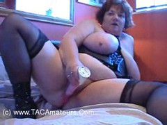 Chris44G - Black Leather Corset 2 Video