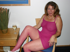 Devlynn - Devlynns Downtime in Pink Fishnet Gallery