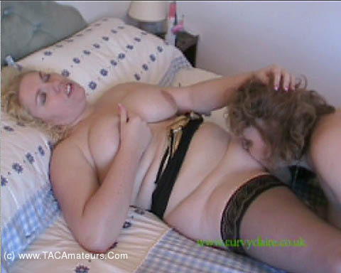 CurvyClaire - Girl on Girl Action scene 1