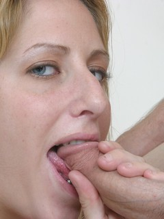 Lauren wants to go shopping but her boyfriend cant be bothered. He decides to go if she will let him fuck her face and L