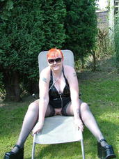 Hot in pvc2 PVC is my all time fave exciting outfit, and with hold-ups and large shoes I look really hot. Mature, milf, bbw/curvy, striptease, united kingdom, exhibitionist, flashing, pvc/latex