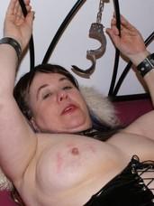 A little bondage pt2 . Cougar, milf, bbw/curvy, big tits,