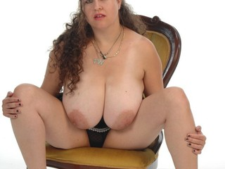 Denise Davies - Black Mini Skirt Striptease Picture Gallery