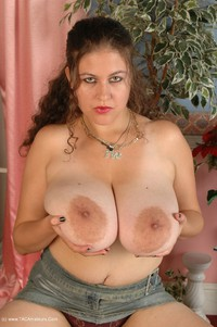 denisedavies - Black Denim Strip Free Pic 3