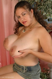denisedavies - Black Denim Strip Free Pic 4