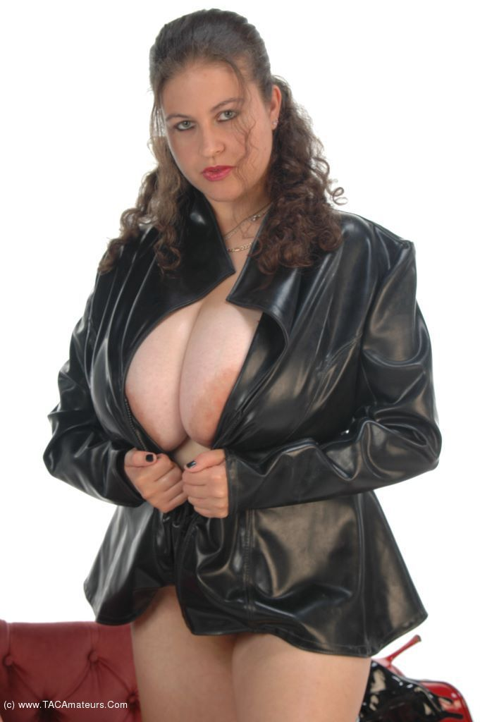 Big Tits In Black Leather 107