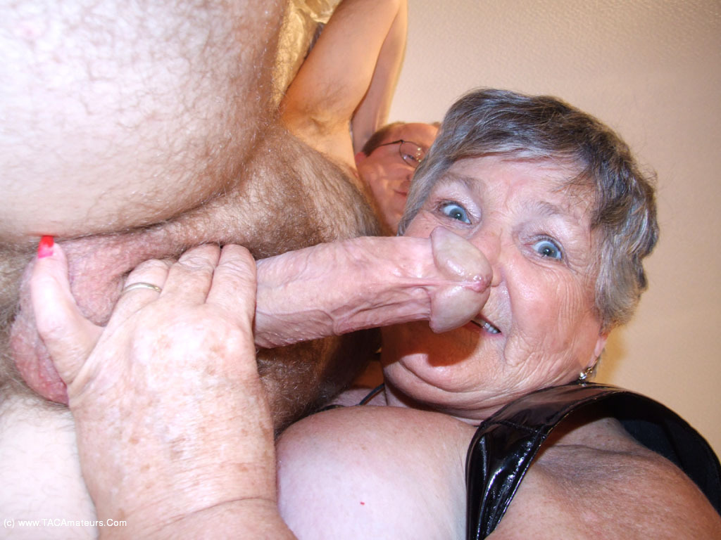 grandma loves cock