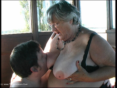 GrandmaLibby - Grandma's Virgin Movie Pt2 Video