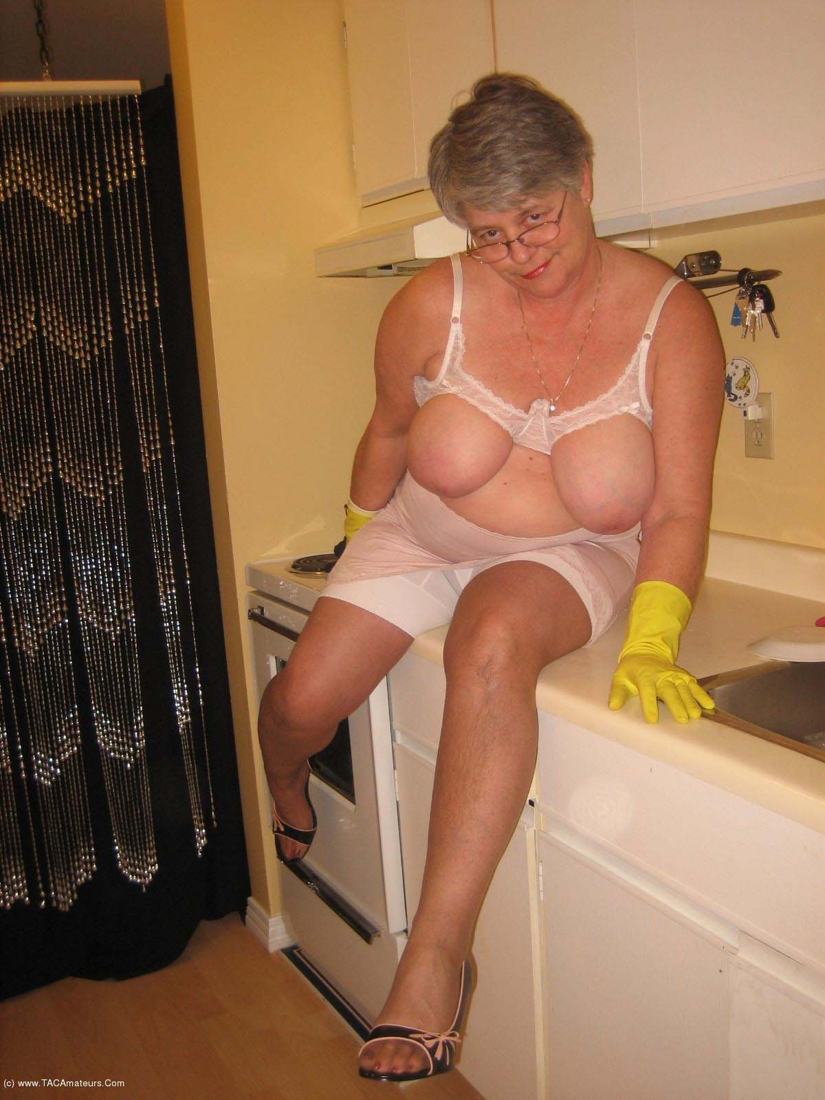Goddess granny amateurs girdle tac