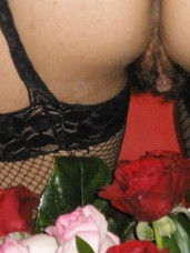 Flower power Milf, big tits, european, hairy, stockings, nylons, cougar