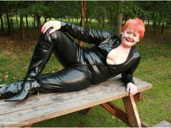 ValgasmicExposed - Curvy Catsuit Photo Album
