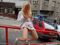 Kathy Sweet first public flashing