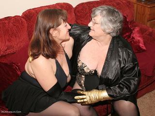Grandma Libby - LT Black Picture Gallery