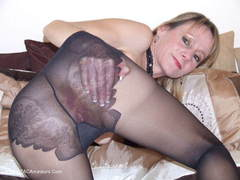 TiffanyT - Black Ripped Nylons Video