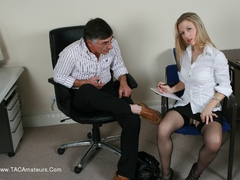 DavesYoungSluts - Michelle Moist, Office Temp Photo Album