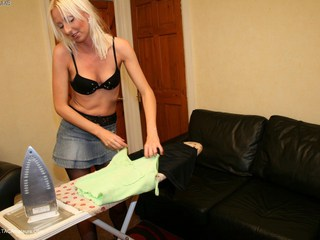 Tracey Lain - Traceys Ironing Picture Gallery