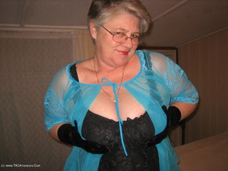 Girdle Goddess - Black Teddy Picture Gallery