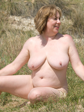 Naked under the cliffs I had just had plenty of fun playing in the sea and although the sea was not too cold it was time to warm up in the sun . Cougar, milf, bbw/curvy, big tits, united kingdom, exhibitionist, flashing