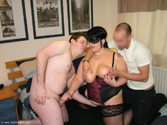DoubleDee - Kinky Stocking Clad Sex With Sam Pt2 Video