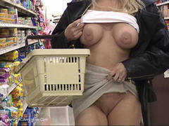 AmiSquirts - Naked In Public 11 Video