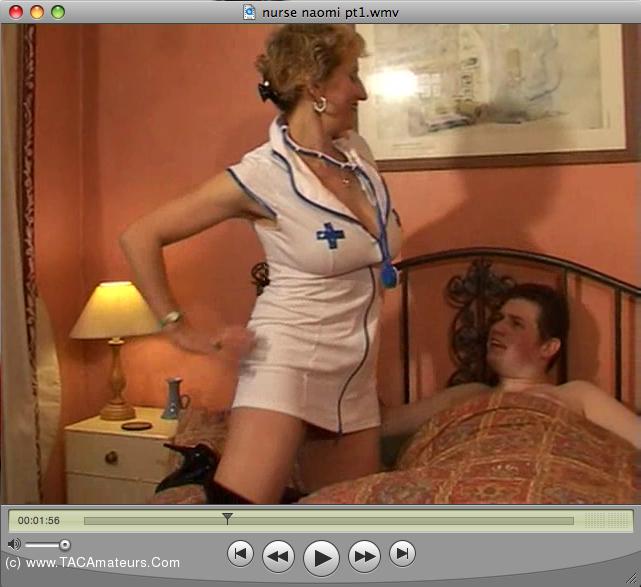 SpunkySam - Naughty Nurse Naomi scene 0