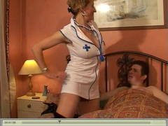 SpunkySam - Naughty Nurse Naomi Video