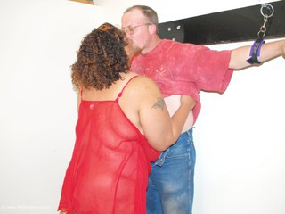 Curvy Baby Girl - Tied down my man Picture Gallery