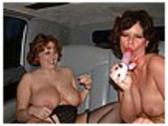 Curvy Claire - Stretch Limo 3 Photo Album
