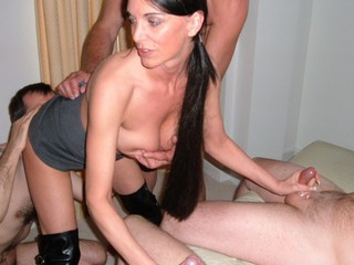Foxie Lady - Gangbang 1 Picture Gallery