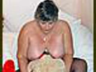 Grandma Libby -  and a cuddly toy 2 Picture Gallery