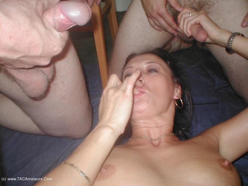 My horny english milf likes to jerk my dick 8